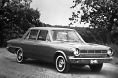 1965 Rambler American 440 Sedan, August 1964 American Motors press photo (R36 Coach) Tags: rambler rambleramerican rambleramerican440 amc americanmotors 1965 pressphoto presskit