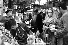 LA BOQUERIA (Andrew Mansfield - Sheffield UK) Tags: spain espana barcelona market street people foodmarket laboqueria stjoseplaboqueria