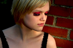 8 (RebeccaLynnPhotography8) Tags: pink portrait female photoshop makeup cannon expressive editing piercings artistry