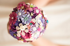 pink enamel brooch bouquet (pumpkin and pye) Tags: enamelflowers broochbouquet enamelbroochbouquet