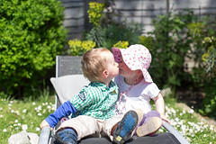 The Kiss (take two) IMG_9800 (s0ulsurfing) Tags: boy summer portrait baby cute garden fun 50mm toddler infant babies play faces head innocent may expressions sunny ears william mum quizzical innocence infants minime fofinho twoyearold totland 2013 s0ulsurfing familyuk gettyimagesportraits