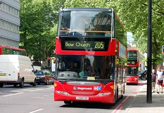8 June Euston (6) (togetherthroughlife) Tags: bus june euston stagecoach scania 205 2013
