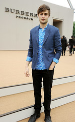 Burberry Menswear Spring/Summer 2014 - Arrivals (ioana_capanu) Tags: england london fashion unitedkingdom celebrities gbr