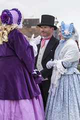 DA12418 (Destinys Agent) Tags: beach up festival costume seaside dress victorian charles dickens broadstairs dickensian