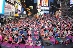 Solstice in Times Square: Athleta Mind Over Madness Yoga 2013 (Times Square NYC) Tags: nyc newyork yoga solstice timessquare asana timessquarealliance solsticeintimessquare2013dg