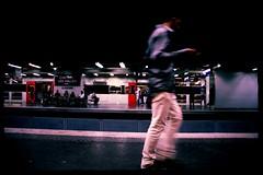 Chatelet Les Halles ~ Urban Chronicles ~ Paris ~ MjYj (MjYj) Tags: life street city blue light sunset summer urban bw woman white black paris sexy art texture love beauty fashion contrast dark soleil hit war couple pretty solitude noir day photographer time top femme forum creative photojournalism documentary dancer pop advertisement bleu event cover amour invalides promenade record romantic paparazzi eden contract feeling blanc reflets chronicles pleasure ville homme tendre peaking encounters chateletleshalles freelancers img8665 mjyj mjyj