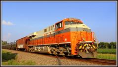 NS 8105 - Interstate (Trainham) Tags: ns interstate bnsf norfolksouthern hinckley ethanol tankcars dpu heritagelocomotive aurorasubdivision hinckleyillinois heritageengine ns8105 interstatelocomotive