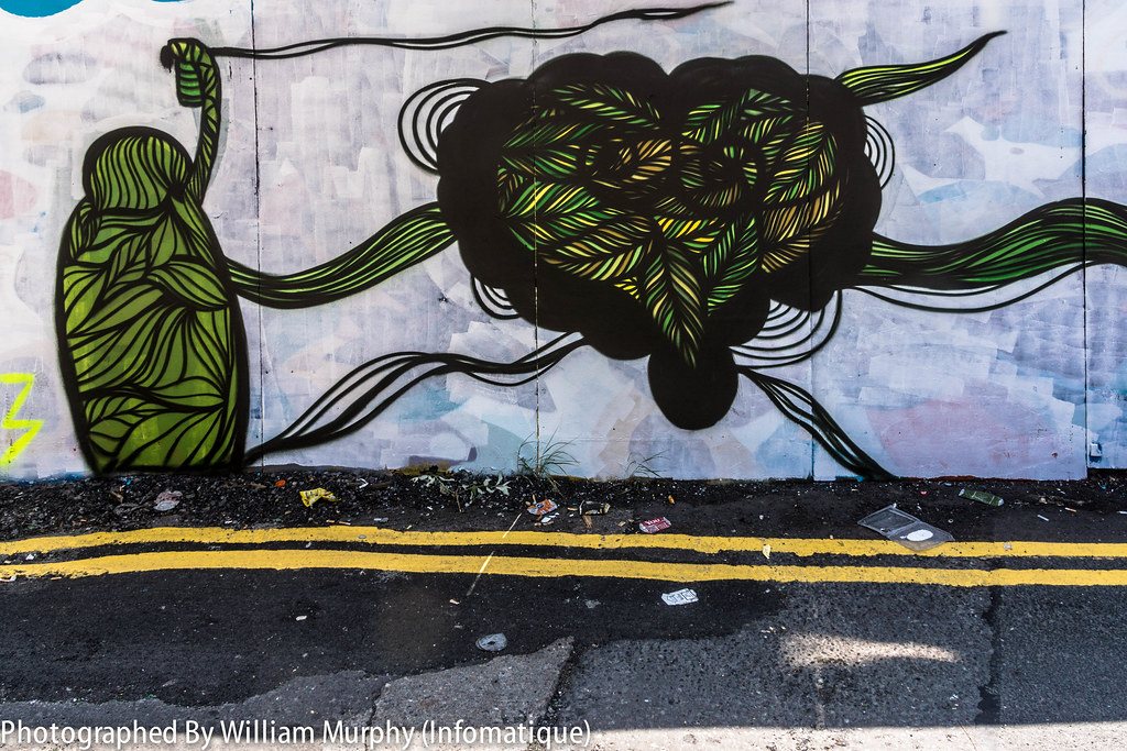 Street Art In Portobello - Streets Of Dublin