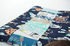 Custom Kindle Case - Patchwork Detail (sewandtellhandmade) Tags: sewing quilting etsy patchwork indiansummer kindle kindlecase sewandtell indiansummerfabric sewandtellhandmade sarahwatsonfabric