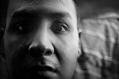 Low-Key [29/52] (HyderAlmosawy) Tags: las vegas windows light summer portrait selfportrait black colors self canon project dark outside eos key natural lasvegas nevada low inside weeks summerfun lowkey 52 selfie 40d