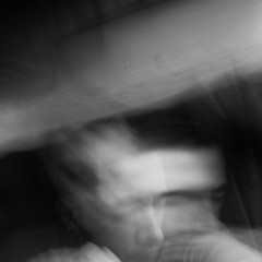 everyone is inside (Vasilis Amir) Tags: longexposure boy portrait blackandwhite selfportrait motion blur male monochrome self square moving experimental ghost move transparency transparent icm  abstractportrait intentionalcameramovement vasilisamir ofportalsandparallelworlds