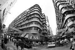 A day in the life of Sham Shui Po V (Steve in HK) Tags: blackandwhite hongkong fisheye 7d streetscenes stephenhughes club16 steveinhk