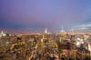 Rockefeller Center - Cloudy sunset (anishsid) Tags: nyc sunset newyork nikon manhattan rockefellercenter observationdeck gebuilding gnd neutraldensity ndgrad 3stop leefilters 1024mm topoftherocknyc d7000 6gnd 9gnd nikkor1024