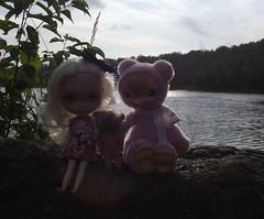 Selene and Tansy at Sullivan Lake