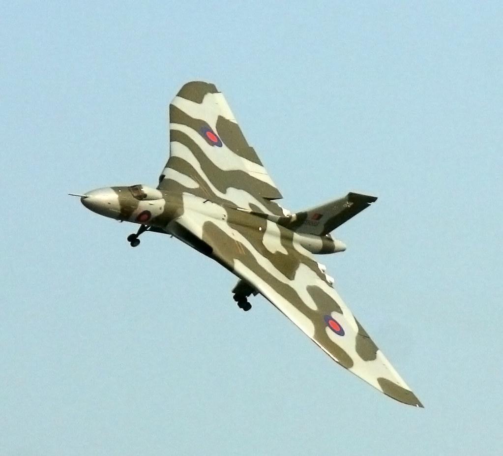 Avro Vulcan (XH558) at Clacton Air Show 2013