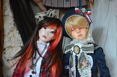 Journe chez MM (Purple  Enma) Tags: france ball doll artist dolls sweet super gale sd bjd merry resin artdoll toulouse dollfie fang mm jointed roud
