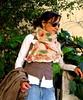 Handmade Nuno felt scarf. (seainyoublog) Tags: wool scarf felting handmade silk felt nuno χειροποίητο μαλλί μαντήλι μετάξι φελτ κετσέσ