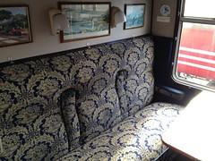 Carriage Mk1 BSK 35333 seat detail (Train Chartering & Private Rail Cars) Tags: brake mk1 bsk