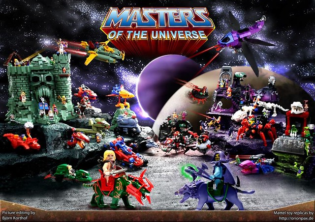 LEGO Masters of the Universe 太空超人MOC作品