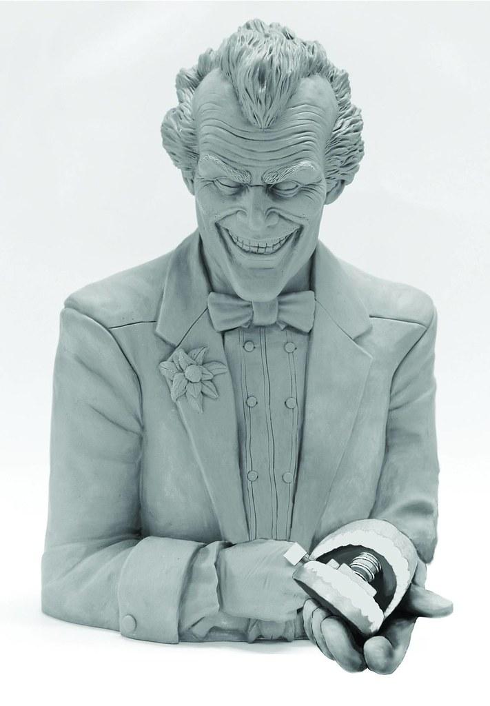 蝙蝠俠:阿卡漢療養院 小丑胸像存錢筒