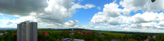 My outlook to the West -  (south-west - to north-west)  as Panorama . Landscape & cityscape .  ON EXPLORE,  Sep 12, 2013 #439 (eagle1effi) Tags: panorama clouds germany wolken places panasonic explore bestofflickr badenwurttemberg onexplore waldhuserost views500 views100 views200 views1000 views1500 views2000 waldhausen views5000 views10000 ae1fave zs30 reisezoom travelzoom tz40 dmctz41 travellerzoom travelerzoom tz41best tz41 panasoniclumixdmctz41 tz40best tz40top