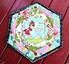 Happy Hexagon Trivet.... (TinyAcorn) Tags: