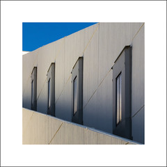 Offset (Mr sAg) Tags: windows vacation holiday abstract building wall square hotel lift tracks croatia bluesky dubrovnik sag simonharrison lapad 2013 babinkuk mrsag simonharrison