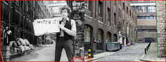 Bob Dylan`location`1965-2013 (roll the dice) Tags: london westminster savoy strand wc2 singer vocals folk music oldandnew pastandpresent hereandnow uk art classic local history bygone chapel henryviii famous video sixties pennebakerfilms bobneuwirth joanbaez donovan cuecards american musician blues culture alley windows site fashion blackandwhite funny england song urban old nostalgia comparison changes collection band wall hotel