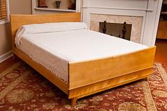 Mid century modern bed (Mid century modern bed) Tags: heywoodwakefield hm154hbsbarstool m140kohinoorbed m179tambourutiltycase