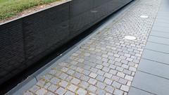 Maya Lin, Vietnam Veterans Memorial, cobble stones