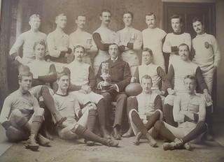 Osgoode Hall second fifteen: junior champions of Ontario - 1892