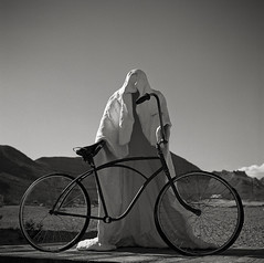 Ghost Rider 1984 (Timo Kirkkala) Tags: bw usa iso100 unitedstates nevada roadtrip 1984 deathvalley rhyolite ghostrider goldwell hasselblad500cm ilforddelta kodakd76 planar80mm charlesalbertszukalski
