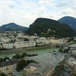 View on UNESCO World Heritage Site Salzburg