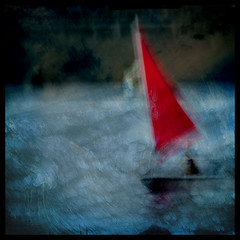 Stormy (2chanze) Tags: blur texture boat sailing manipulation layers watersports squared