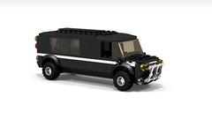 Limo Hummer Style (Thisani) Tags: lego limo stretch hummer povray ldd