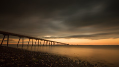 Cloghan Oil Jetty (Mr Bultitude) Tags: ireland sunset point long exposure lough day mr cloudy jetty neil belfast oil whitehead northern carey bultitude cloghan killroot