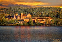 Rocky Gap Casino Resort (PhotosToArtByMike) Tags: sunset hotel md sundown maryland casino westernmaryland rockygap alleganycounty cumberlandmaryland lakehabeeb rockygapcasinoresort