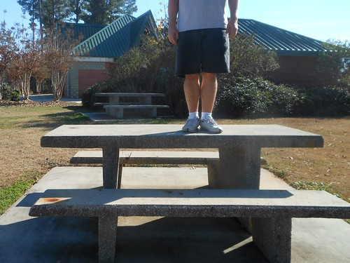 Bench Monday: I-26 Rest Area Edition