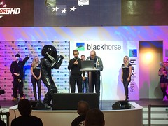 Lloyd's Blackhorse Stage Featuring Big Ed (Tanvir's Pics 2010) Tags: ed big birmingham day live stage motorcycle opening lloyds blackhorse nec 2013 uploaded:by=flickrmobile flickriosapp:filter=nofilter nationalexhibitioncentrenec