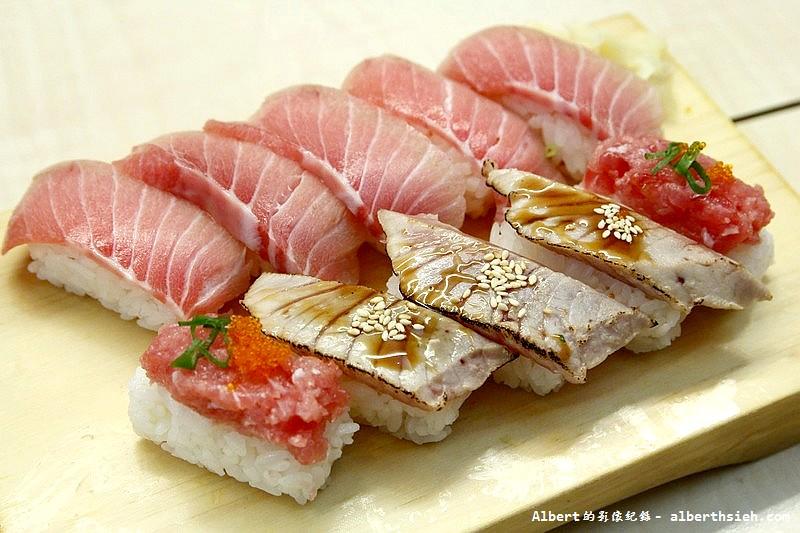 台北中正.順億鮪魚專賣:鮪盛合細雪 (1)