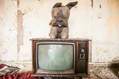 Little House on the Prairie (Thomas Hawk) Tags: usa abandoned television tv unitedstates fav50 michigan unitedstatesofamerica detroit artdeco leeplaza charlesnoble leeplazaapartments fav10 fav25 leeplazahotels