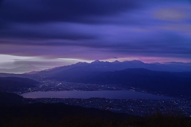 Suwa and Fuji