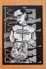 See_no_evil_(HATE) (Sanscript @ Broken Window Prints) Tags: urban white stencils black hot art love modern paper monkey stencil contemporaryart contemporary modernart seenoevil tattoos hate posters prints spraypaint aerosol sexygirls rag stencilart aerosolart posterart lovehate tattoogirls sanscript lovegirls stencilprints stencilurban urbanartprints brokenwindowprints tattourbanart
