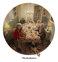 Thanksglutton (Zack Ahern) Tags: thanksgiving dinner turkey photography video holidays daniel mashedpotatoes castro meal conceptual zack retouch retouching ahern bts