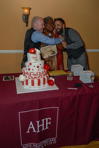 AHF's Same-sex Rose Parade Wedding: