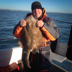 "Gavin Tyte's record 15lb 13oz Undulate Ray • <a style=""font-size:0.8em;"" href=""http://www.flickr.com/photos/113772263@N05/11893728316/"" target=""_blank"">View on Flickr</a>"