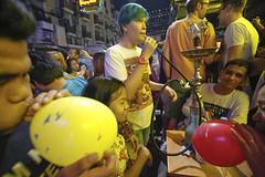 Carnival - Khao San, Bangkok, Thailand (Zinkie Aw (ishoothabits.com)) Tags: party beer club thailand dance pub shisha market bangkok crowd clubbing enjoy nightmarket mayhem khaosan selfie backpackers partyscene pingpongshow soirambuttri