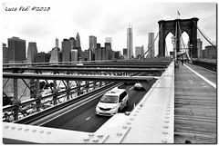 NY - Brooklyn Bridge (Luca Fedi) Tags: street city bridge usa ny newyork strada ponte brooklynbridge scorcio citt statiunitidamerica brooklyin nikond90