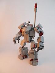 WUE (Wyrk Wyze) Tags: robot lego hard suit mecha bot mech wasteland hardsuit