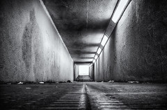 Under Millbrook Road (Humphrey Hippo) Tags: uk england bw monochrome subway unitedkingdom hampshire explore fujifilm 365 southampton millbrook hdr x100 project365 explored niksoftware silverefexpro silverefexpro2 hdrefexpro fujifilmx100